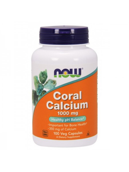 Now Foods Coral Calcium 1000 mg Veg (250 капс.)