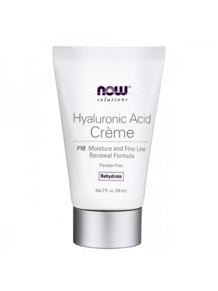 Now Solutions Hyaluronic Acid Creme (59 мл)