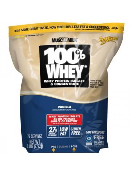 CytoSport Muscle Milk 100% Whey (2722 гр.)