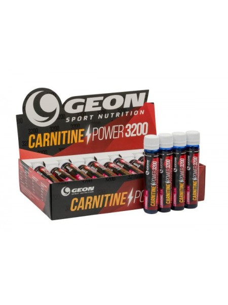 GEON Sport Nutrition Carnitine Power 3200 25 мл (20 амп.)