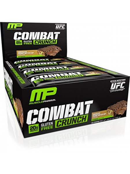 MusclePharm Combat Crunch Bars (12 шт.)
