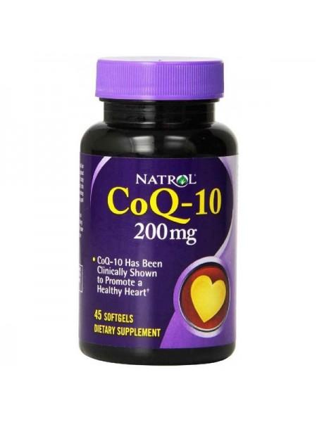 Natrol CoQ-10 200 mg (45 капс.)