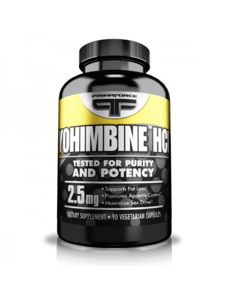 PrimaForce Yohimbine HCL 2.5 mg (90 капс.)