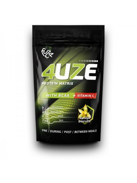 PureProtein Fuze 4UZE Protein Matrix With BCAA + Vitamin C (750 гр.)