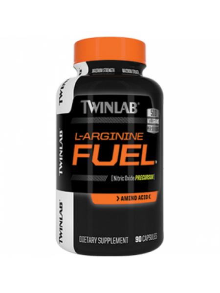 Twinlab L-Arginine Fuel 500 mg (90 капс.)
