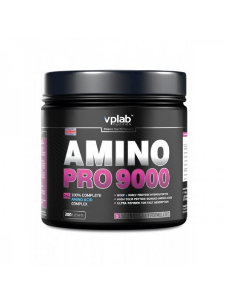 VP Laboratory Amino Pro 9000 (300 таб.)