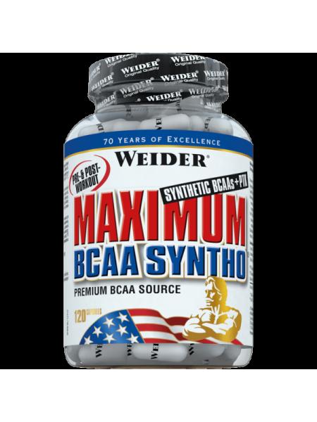 Weider Maximum BCAA Syntho (120 капс.)