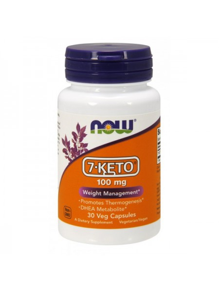 Now Foods 7-KETO 100 mg Veg (120 капс.)