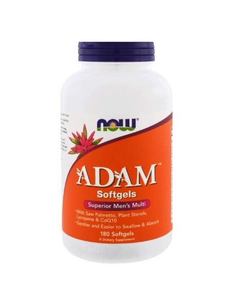 Now Foods Adam Softgels (180 капс.)