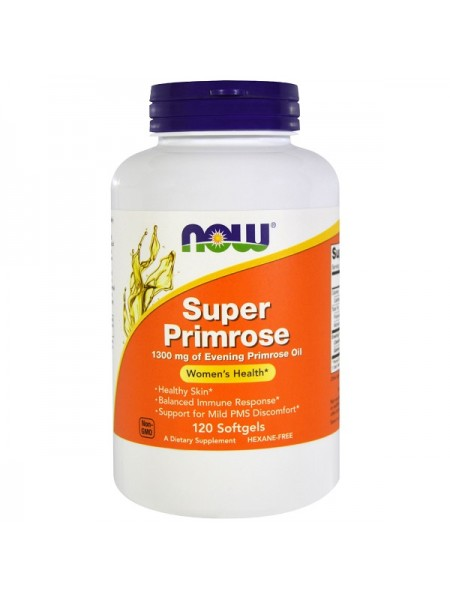 Now Foods Super Primrose Softgels (120 капс.)