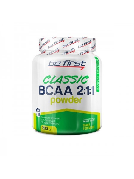 Be First BCAA 2-1-1 Classic Powder (200 гр.)