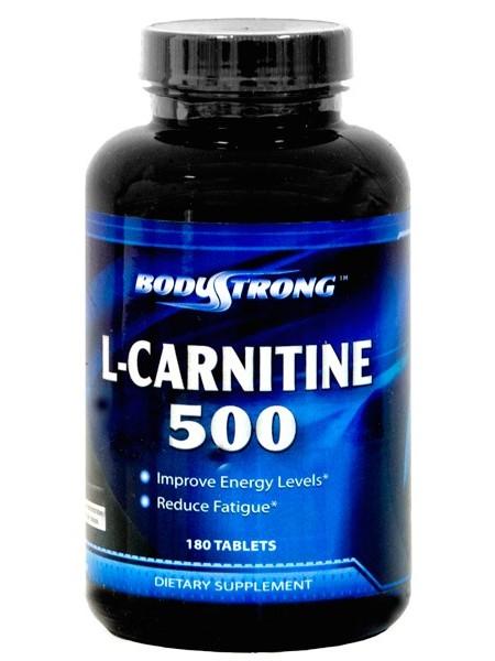 BodyStrong L-Carnitine 500 мг (180 таб)