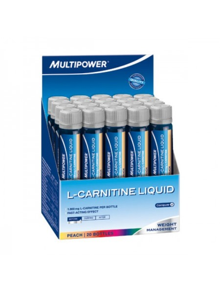 Multipower L-Carnitine Liquid Forte (20 амп.)