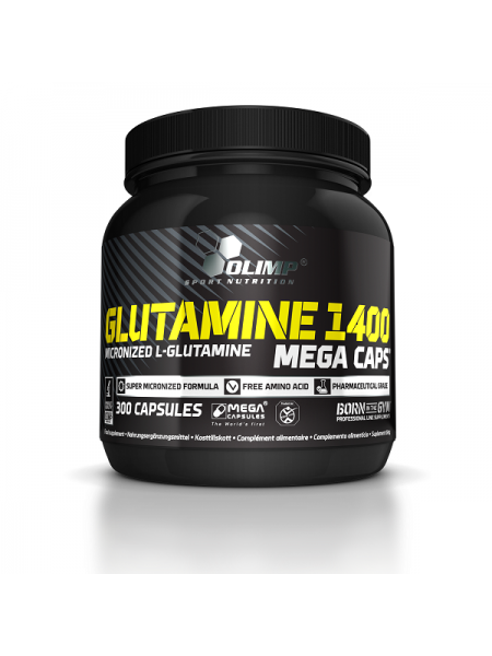 Olimp Glutamine 1400 Mega Caps (300 капс.)