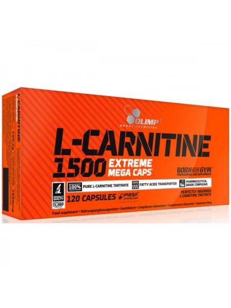 Olimp L-Carnitine 1500 Extreme Mega Caps (120 капс.)