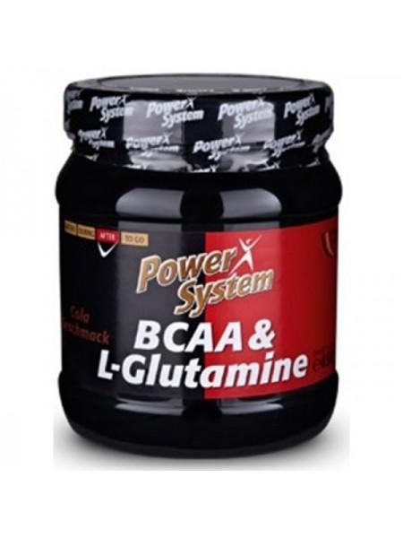 Power System ВСАА & L-Glutamine (450 гр.)