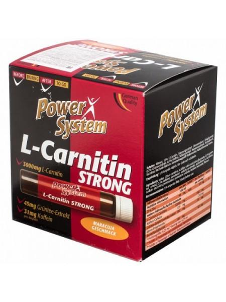 Power System L-Carnitin Strong (20 амп.)