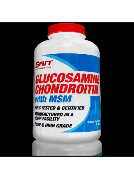 SAN Glucosamine Chondroitin MSM (180 таб.)