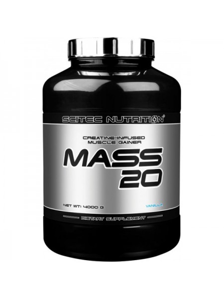 Scitec Nutrition Mass 20 (4000 гр.)