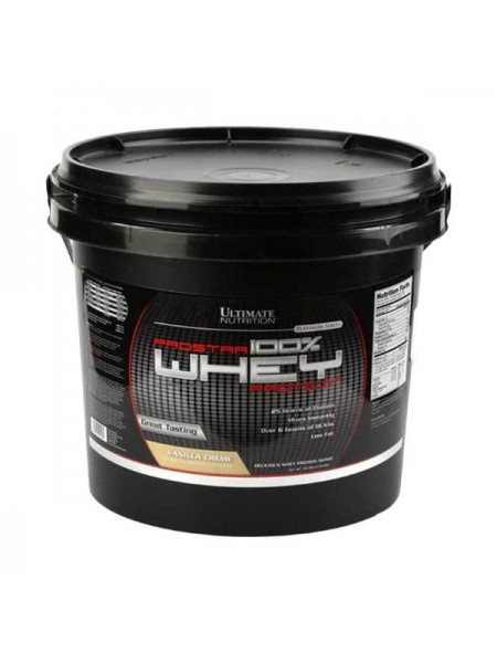 Ultimate Nutrition Prostar 100% Whey (4540 гр.)
