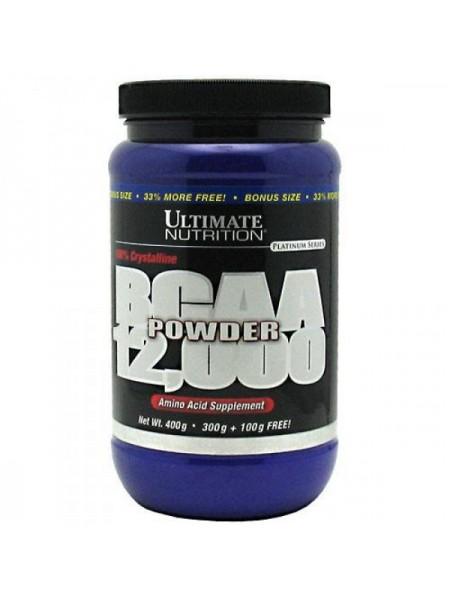 Ultimate Nutrition BCAA 12000 Powder (400 гр.)