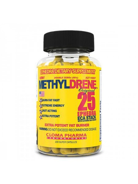 Cloma Pharma Methyldrene 25 Ephedra ECA Stack (100 капс.)