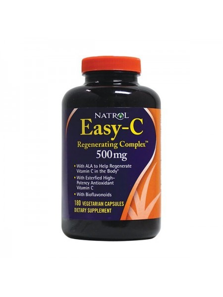 Natrol Easy-C Regenerating Complex 500 мг (180 капс.)
