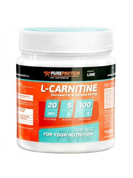 PureProtein L-Carnitine (100 гр.)