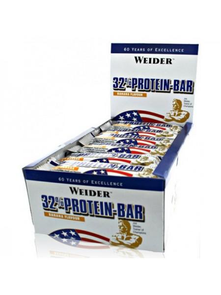 Weider 32% Protein Bar 60 гр. (24 шт.)