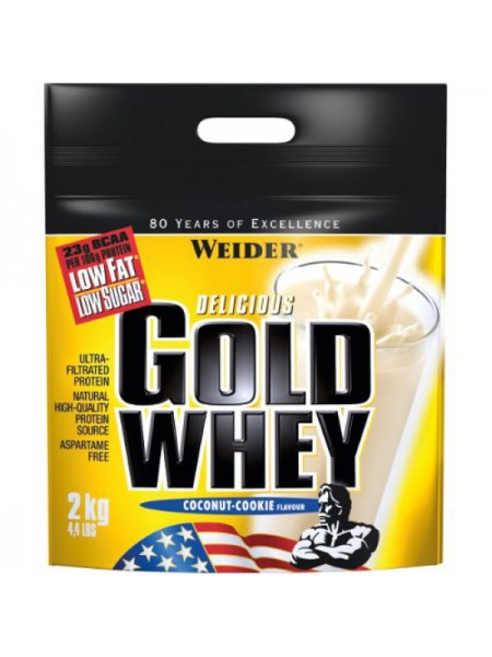 Weider Delicious Gold Whey Protein (2000 гр.)