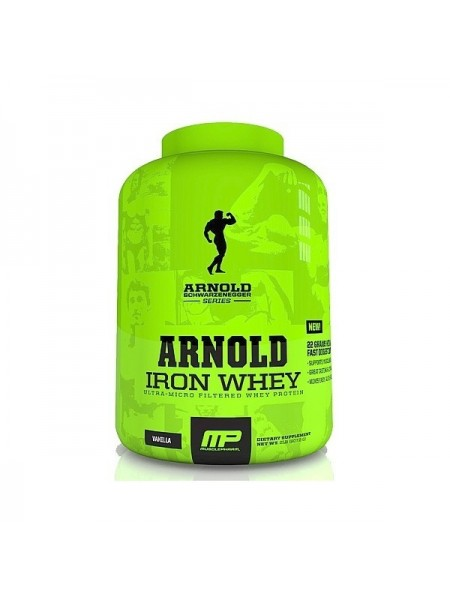MusclePharm Arnold Iron Whey (2270 гр.)